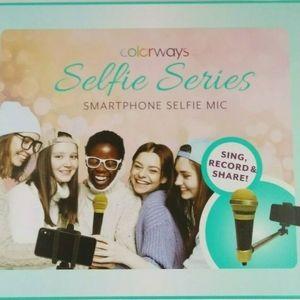 Colorways Selfie Series Smartphone Microphone New